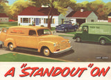 1950 Chevrolet Trucks Brochure/Mailer