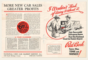 1927, 1928 National Used Car Market Report