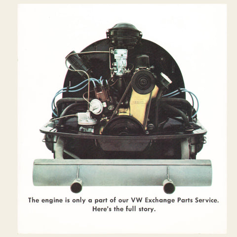 1964 Volkswagen Engine Exchange Brochure