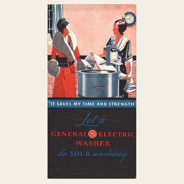 1932 General Electric Washer Brochure