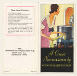 "1932 GE ""New Washer"" Brochure"