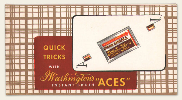 1930s Aces Broth, Tuna and Maine Chickens Brochures
