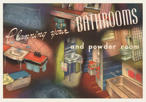 1950s (?) Briggs Bathroom Fixture Brochure