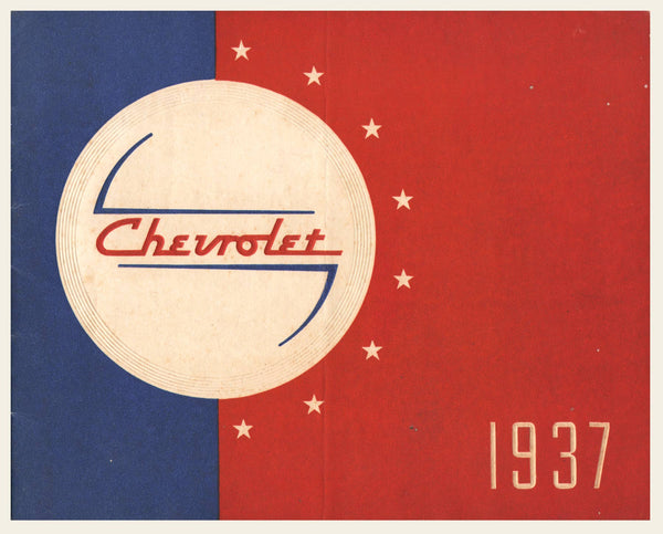 1937 Chevrolet Prestige Sales Brochure
