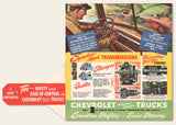 1940s Chevrolet Trucks Brochure/Mailer