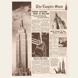 1950s Empire State Bld. Brochure