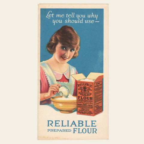 1930s Reliable and Super Flour Brochures