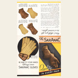 1930s Saranac Gloves Brochure