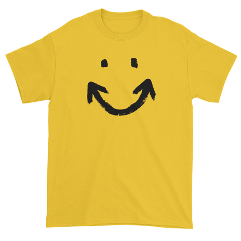 T-shirt with arrow smile