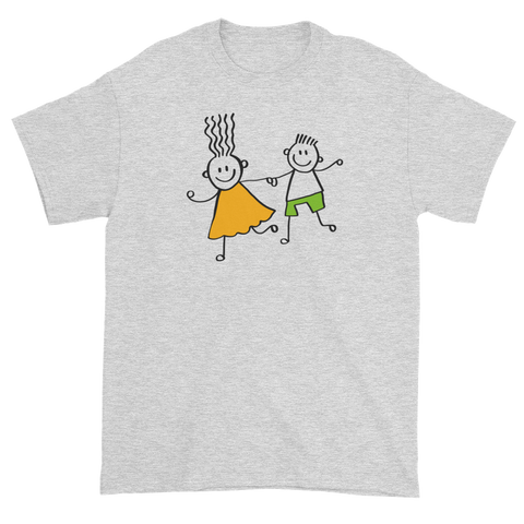 T-shirt with children