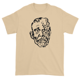 T-shirt with melting man