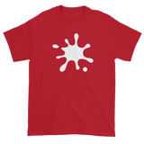 T-shirt with white splat