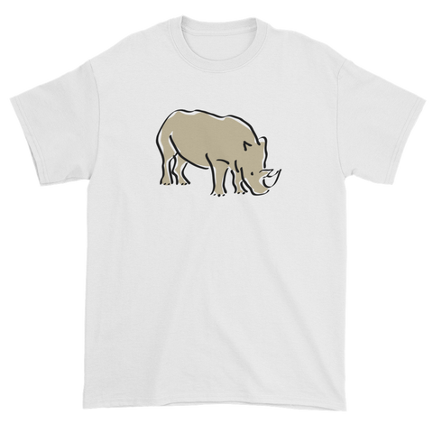 T-shirt with rhino