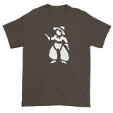 T-shirt with cowboy