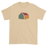 T-shirt with abstract house