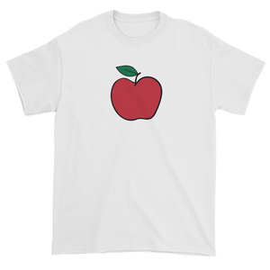 T-shirt with red apple
