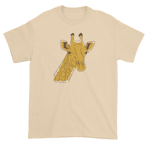 T-shirt with giraffe