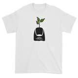 T-shirt with green thumb