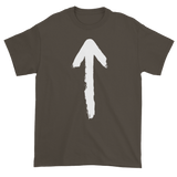 T-shirt with arrow