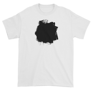 T-shirt with smudge