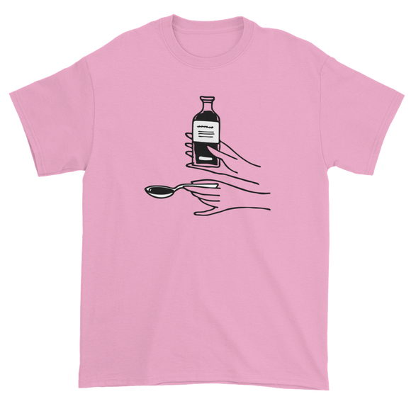 T-shirt with medicine