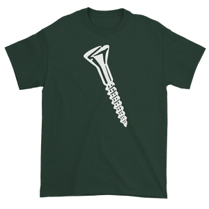 T-shirt with screw