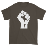 T-shirt with fist