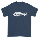 T-shirt with fish bones