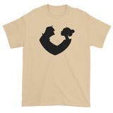 T-shirt with heart couple