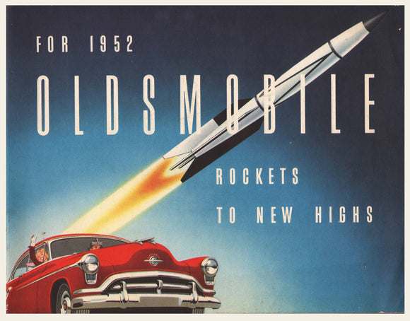 1952 Oldsmobile 88 & 98 Sales Brochure