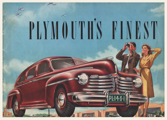 1941 Plymouth Prestige Dealer Brochure