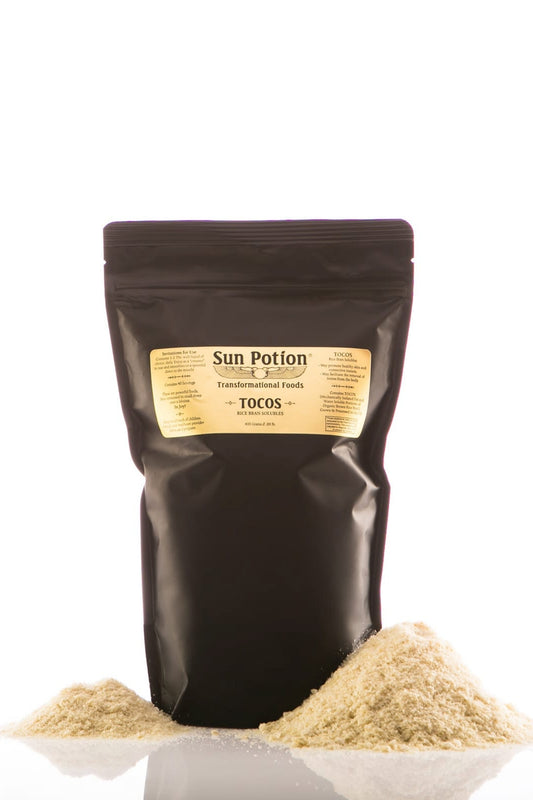 Tocos Rice Bran Solubles 400g Sun Potion