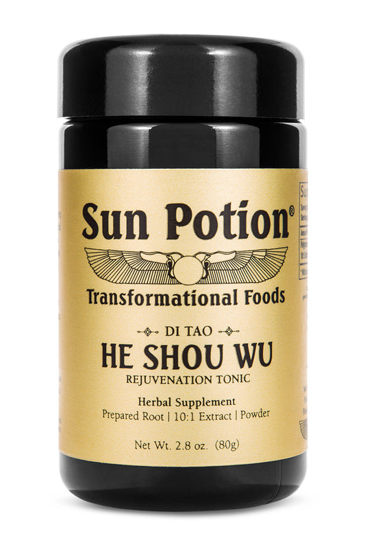 He Shou Wu Wildcrafted Sun Potion