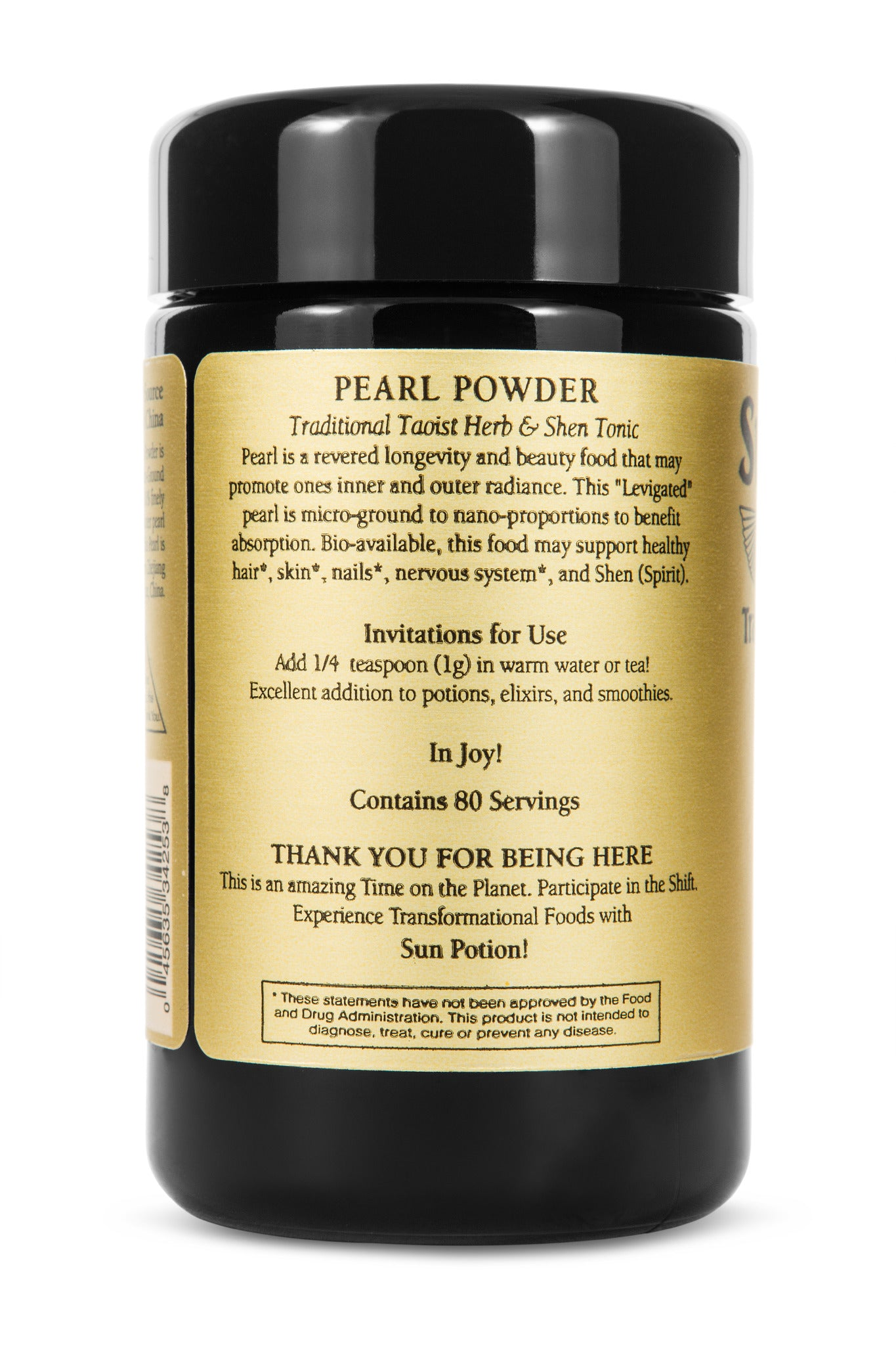 Pearl Powder (sustainable, freshwater)