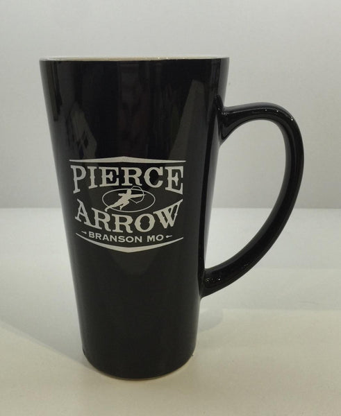 Black Pierce Arrow Mug