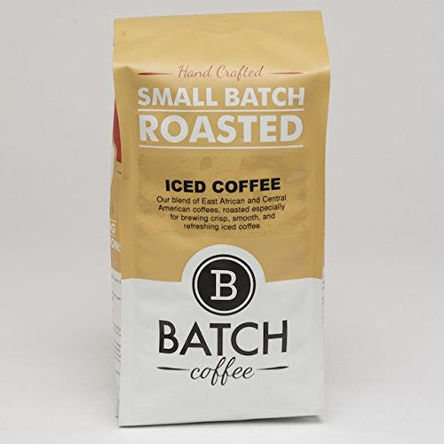 Batch Coffee Iced Coffee Blend, 1-lb Bag - Batch Coffee - Same Day Shipping!