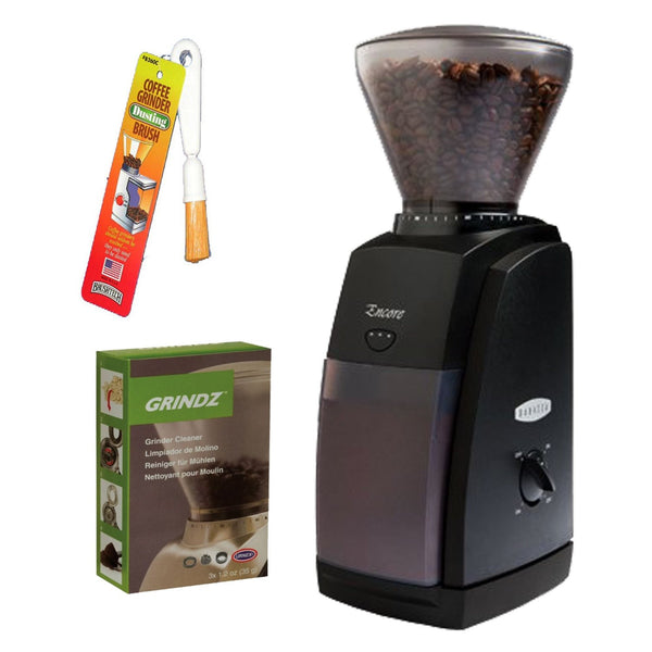 Baratza 485 Encore Coffee Grinder + Coffee Grinder Cleaner + Coffee Grinder Dusting Brush … - Batch Coffee - Same Day Shipping!