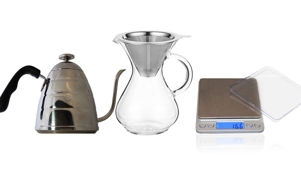 CoastLine Pour Over Coffee Kit | - Batch Coffee - Same Day Shipping!