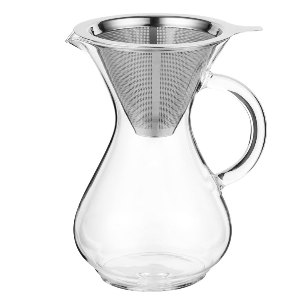 CoastLine Pour Over Coffee Carafe | 4 Cup Capacity | - Batch Coffee - Same Day Shipping!