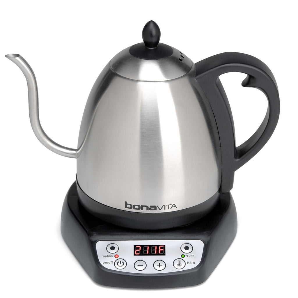 Bonavita 1.0-Liter Gooseneck Variable Electric Kettle - Batch Coffee - Same Day Shipping!