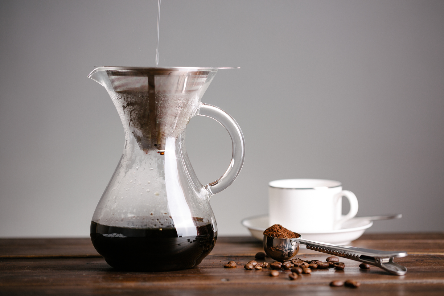 The New CoastLine Coffee Carafe with Stainless Steel Filter
