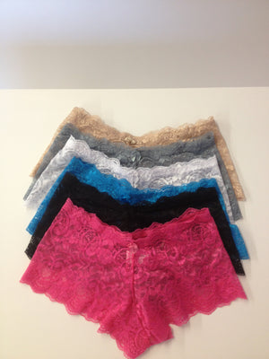 5 for $20 Lace Boyshort