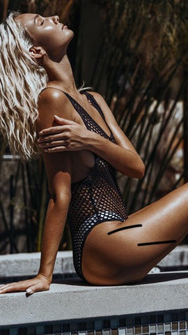 Latres-Net Swimsuit
