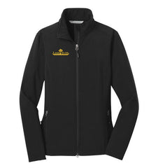 Ladies Black Core Soft Shell Jacket