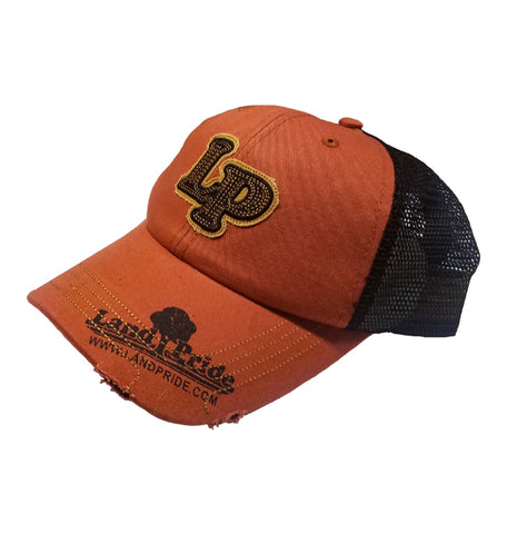 Land Pride Custom Distressed Hat