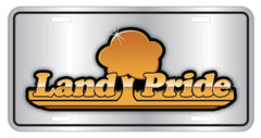 Land Pride License Plate