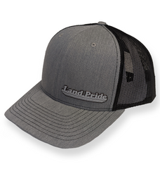 Richardson Trucker Cap with Poly Press Land Pride Logo