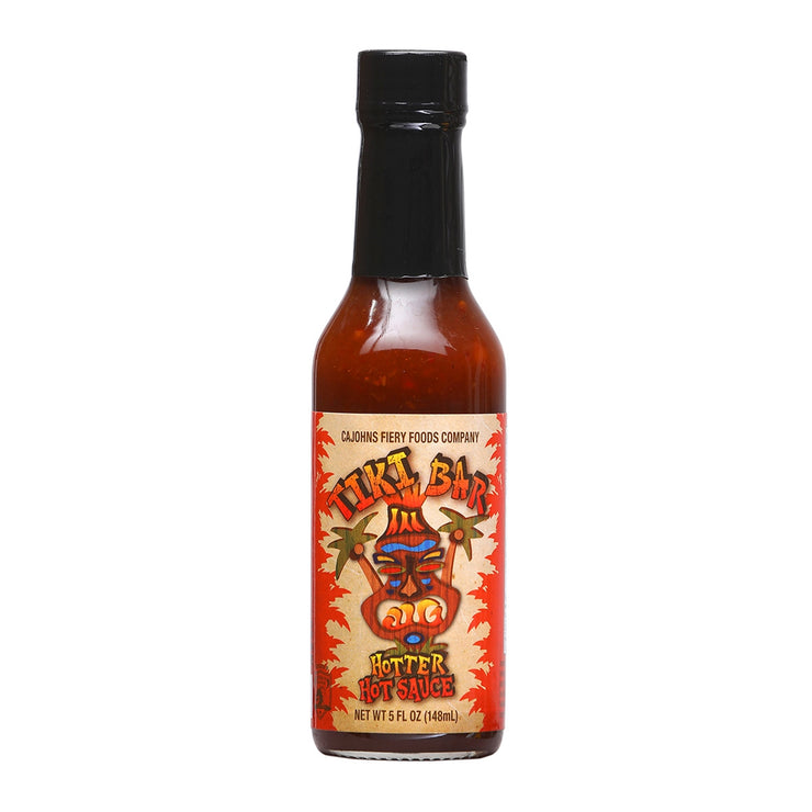 Cajohn's Tiki Bar Hotter Hot Sauce