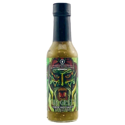 Heartbreaking Dawn's The Green Verde Hot Sauce