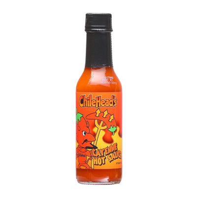 Chilehead's Cayenne Hot Sauce